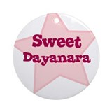 Sweet Dayanara Ornament (Round)