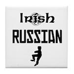 Irish Russian Tile Coaster
