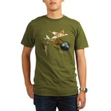 Earth Tone Abstract Peace Sym T-Shirt
