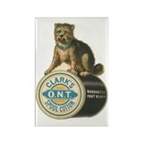 Clark's Spool Cotton Dog Vintage Rectangle Magnet