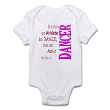 Artist Athlete Dancer Infant Bodysuit