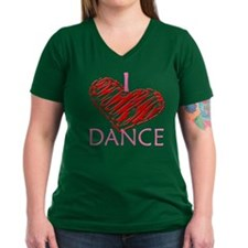 I heart/love Dance Shirt