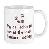 Cat Adopted Me Small Mug