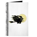 Witch on Broom Journal