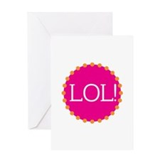 lol! Greeting Card