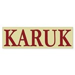 Karuk Tribe Bumper Sticker (50 pk)