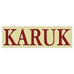 Karuk Tribe Bumper Sticker (50 pk)