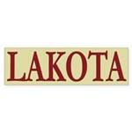 Lakota Tribe Bumper Sticker (10 pk)