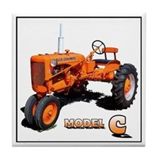 Allis chalmer tractors Tile Coaster