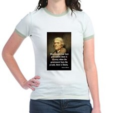 Jefferson, When People Fear Government T