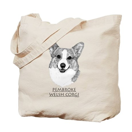 Pembroke Welsh Corgi Neutral Tote Bag