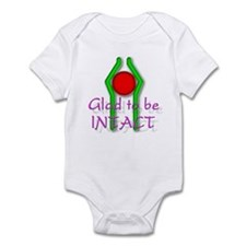 """""""Glad to be Intact"""" (2) Infant Bodysuit"""