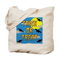 Trick Or Treat Bats (tote bag)