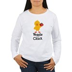 Veggie Chick Women's Long Sleeve T-Shirt