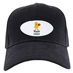 Veggie Chick Black Cap