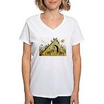 Steps of Freemasonry Women's V-Neck T-Shirt