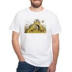 Steps of Freemasonry White T-Shirt