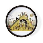 Steps of Freemasonry Wall Clock