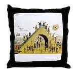 Steps of Freemasonry Throw Pillow