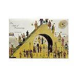 Steps of Freemasonry Rectangle Magnet (100 pack)