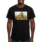 Steps of Freemasonry Men's Fitted T-Shirt (dark)