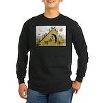 Steps of Freemasonry Long Sleeve Dark T-Shirt