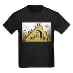 Steps of Freemasonry Kids Dark T-Shirt