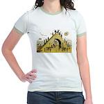 Steps of Freemasonry Jr. Ringer T-Shirt