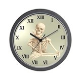13 Hour Skeleton Clock Wall Clock