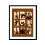 Outlaws Framed Print
