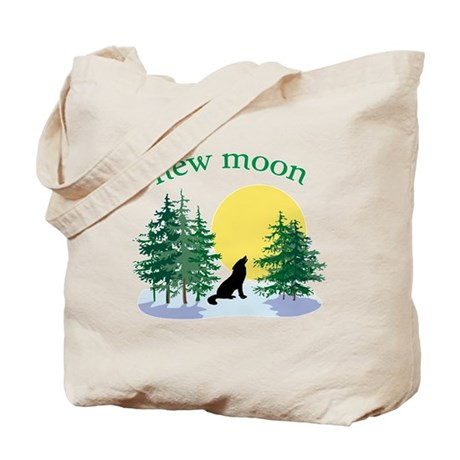 New Moon Howl Tote Bag