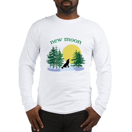 New Moon Howl Long Sleeve T-Shirt