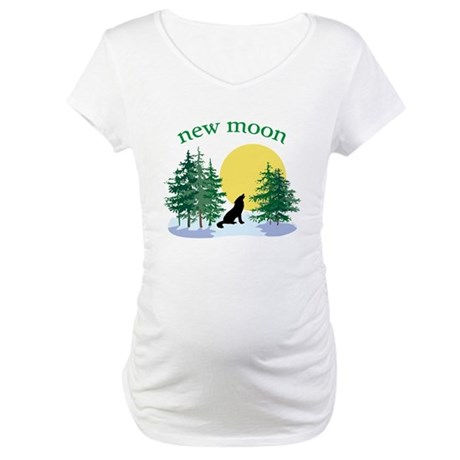 New Moon Howl Maternity T-Shirt