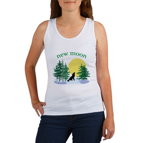 New Moon Howl Women's Tank Top