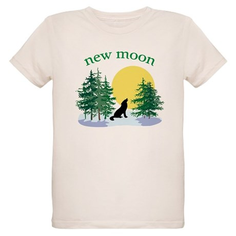 New Moon Howl Organic Kids T-Shirt