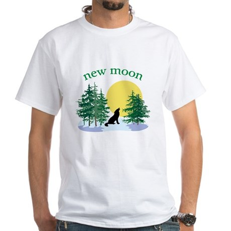 New Moon Howl White T-Shirt