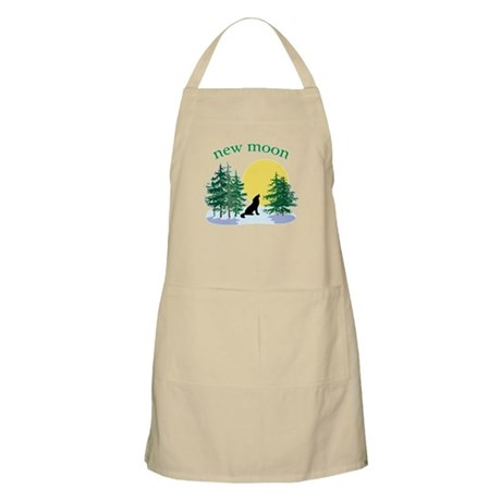New Moon Howl BBQ Apron