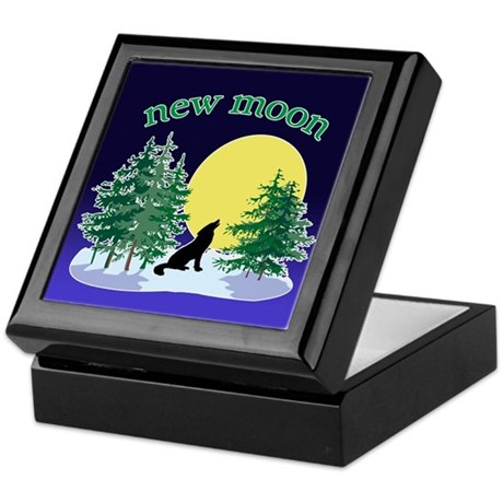 New Moon Howl Keepsake Box