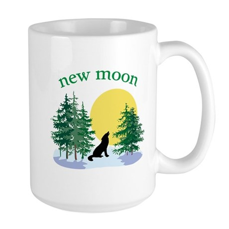 New Moon Howl Large Mug