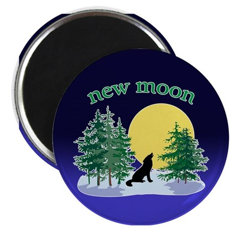 New Moon Howl Magnet