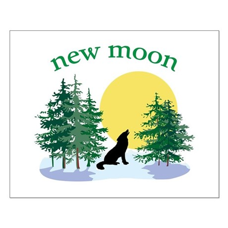 New Moon Howl Small Poster