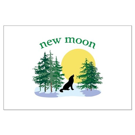 New Moon Howl Large Poster