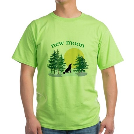 New Moon Howl Green T-Shirt