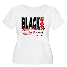 Black Friday Shopping Cart T-Shirt