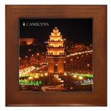 Independence Monument Framed Tile