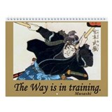 Zen & Martial Arts Wall Calendar 2013