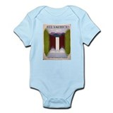 National Park Waterfall Onesie