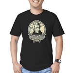 Irony is Andrew Jackson Men's Fitted T-Shirt (dark