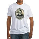 Irony is Andrew Jackson Fitted T-Shirt