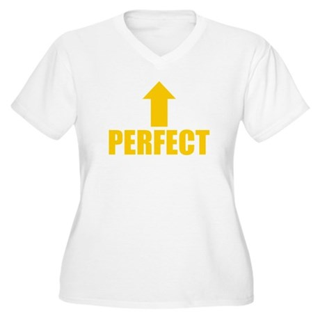 I'm Perfect Plus Size V-Neck Shirt